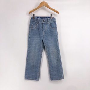 Mini Boden Striped Jeans Size 3-4 Years